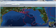 Deepwater Horizon Oil Spill in GIS