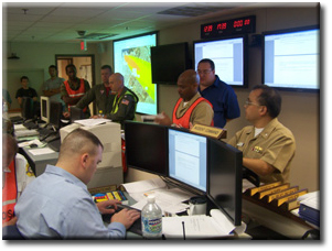 Navy EOC use of GIS